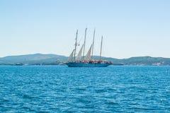 船在海运 免版税图库摄影