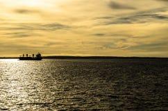 船在海 免版税库存图片