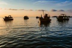 船在港口 免版税图库摄影