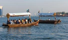 船在萨伊德在迪拜,阿拉伯联合酋长国 免版税库存照片