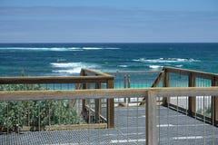 船坞向海在澳大利亚 库存图片