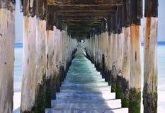 船坞在桑给巴尔 免版税图库摄影