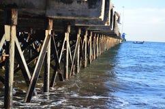 船坞结构 免版税库存图片