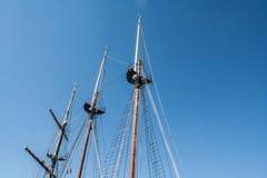 船帆柱 库存照片