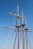 船帆柱 免版税图库摄影