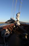 船帆柱 库存图片