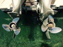 船引擎 免版税库存照片