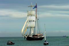 船战争 图库摄影