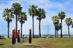 系船柱在吉朗,澳大利亚 免版税图库摄影