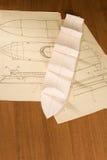 船比例模型建筑 库存照片