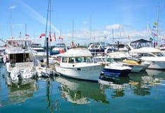 船民加拿大庆祝内在日的港口 库存照片