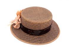 船民棕色帽子 库存照片