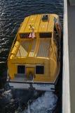 船的嫩小船在巴港,美国, 2015年 免版税库存图片