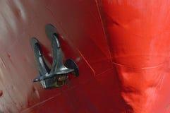 货船的弓 免版税库存照片