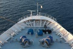 船的弓 免版税库存照片