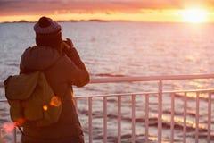 船的旅客 免版税库存图片