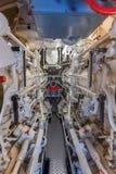 船的机舱的看法 库存图片