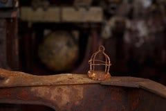 船的生锈的零件 库存图片