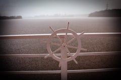 船的轮子 免版税库存图片