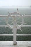 船的轮子 库存图片