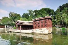 船的风景区 图库摄影
