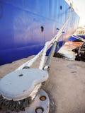 船的绳索 库存图片