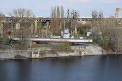 船纪念碑显示器` Zheleznyakov ` 免版税库存照片