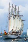 船胡安塞巴斯蒂安de Elcano 库存图片