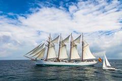 船胡安塞巴斯蒂安de Elcano 免版税库存照片