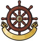 船舵 免版税库存图片