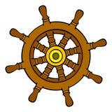 船舵 免版税库存照片