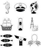 船舶元素2 免版税图库摄影