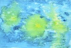 船舶水彩背景 水彩抽象绘了b 免版税库存照片