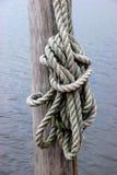 船舶绳索 库存照片