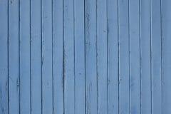 船舶蓝色被风化的蓝色板条 免版税库存照片