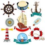 船舶象 向量例证