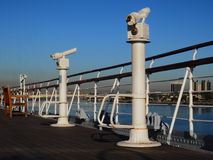 船观察台 免版税图库摄影