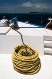 船视图 免版税库存图片