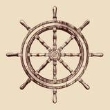 船轮子 皇族释放例证