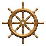 船轮子 向量例证