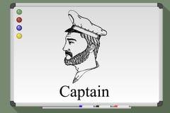 船长行业 向量例证