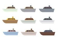 船集合 免版税库存图片