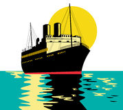 船 免版税库存照片