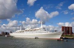 船SS鹿特丹 免版税库存照片