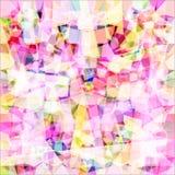 紫色万花筒 光栅1 1 免版税库存图片