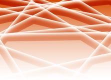 绿色三角计算机业务和技术背景 免版税库存图片
