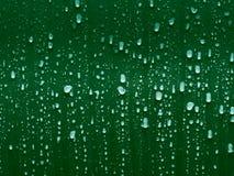 绿色下落 库存图片
