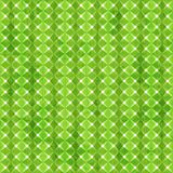 绿色与难看的东西作用的菱形无缝的样式 免版税库存图片