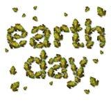 绿色世界地球日概念 免版税库存照片