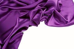 紫色丝绸 库存图片